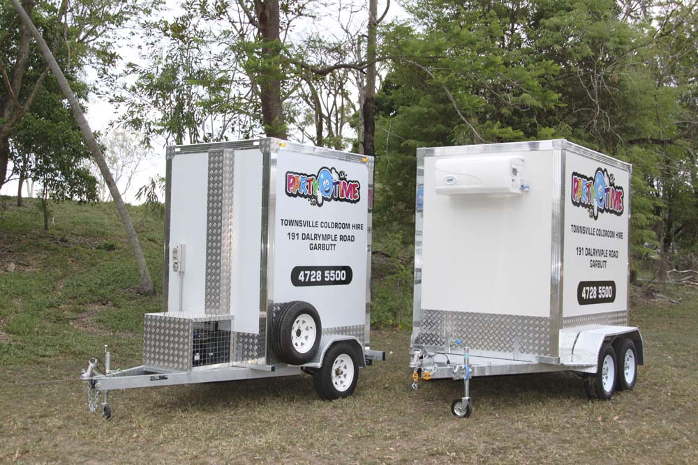 Our Standard and Large Mobile Coldrooms